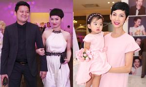 Sao nô nức dự tiệc cưới Lê Thúy tại TP HCM