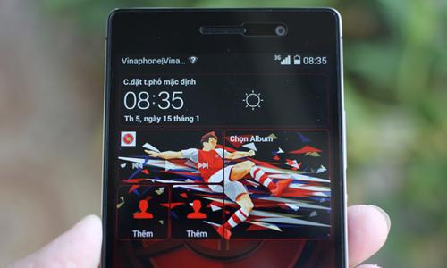 Ảnh Huawei P7 Arsenal giá 9 triệu đồng ở Việt Nam