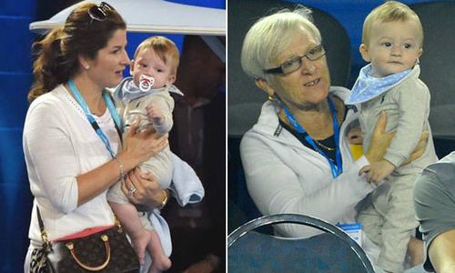 Lộ diện cặp song sinh thứ hai của Federer