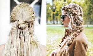 7 kiểu tóc nhanh-gọn-nhẹ cho buổi sáng