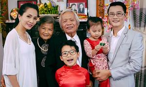 Hoàng Bách khoe cả gia đình trong MV mới