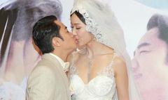 'Chú lùn TVB' hôn vợ say đắm trong ngày cưới