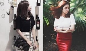 Lookbooker Nga Wendy gợi ý mix style tối giản
