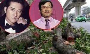 Giáo sư Xoay và Tuấn Hưng hát nhạc chế việc chặt cây