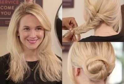 3 kiểu tóc đẹp cho buổi hẹn hò cuối ngày vội vã
