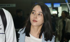Mỹ nhân 'Truyền thuyết Ju Mong' béo hơn khi mang bầu