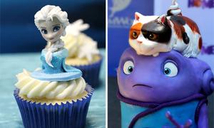 Mê tít những chiếc bánh y hệt nhân vật hoạt hình