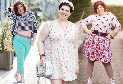 Nàng béo không ngại diện váy áo nổi bật