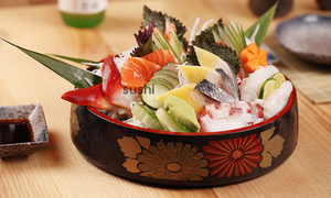 Hơn 100 món ăn Nhật tại Buffet iSushi