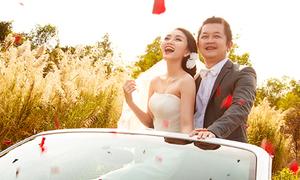 Ảnh cưới đẹp như mơ của Miss Ngôi Sao Thy Thơ