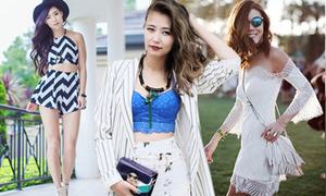 Học fashionista chọn style mùa hè gợi cảm
