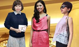 Sao Việt mất điểm vì trang phục nhàu nhĩ