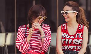 Yến Trang, Yến Nhi mix đồ đôi đẹp hút mắt