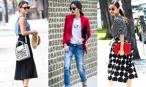 Bóc giá thời trang giá rẻ mà sành điệu của Jamie Chung