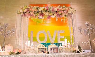 Tiệc cưới chị gái dành tặng cặp đôi ở Nha Trang
