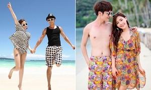 Đồ đi biển vui tươi cho các cặp tình nhân