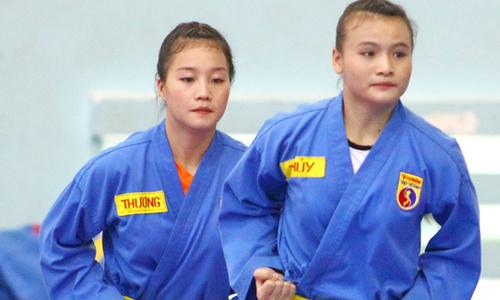 Nhan sắc hai hot girl vovinam Thanh Hóa