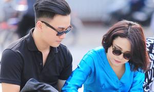 Thái Trinh được người yêu điển trai chăm sóc