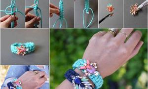 10 cách đơn giản làm vòng tay xinh xắn