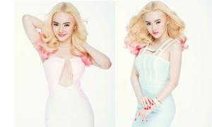 Em gái Angela Phương Trinh diện váy cut out sexy
