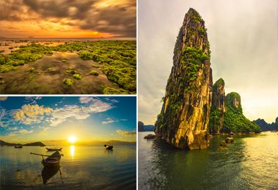Những bãi biển Việt Nam đẹp bất ngờ