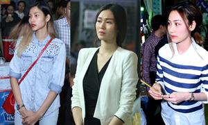 Hàng loạt diễn viên, người mẫu đến viếng Duy Nhân