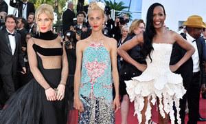 10 bộ trang phục xấu nhất Cannes 2015