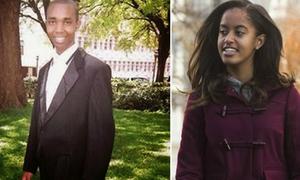 Chàng luật sư trẻ mang đàn gia súc xin cưới con gái Tổng thống Obama