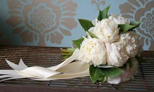 Những bó hoa mẫu đơn đẹp dịu dàng cho cô dâu