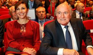 Người đẹp khiến Chủ tịch FIFA 'thổn thức'