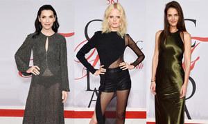 8 sao mặc xấu tại giải thời trang CFDA
