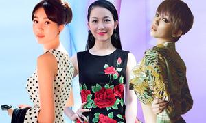 Sao Việt làm điệu với trang phục họa tiết