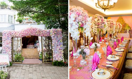 Biệt thự Sài Gòn đẹp lộng lẫy ngày đính hôn