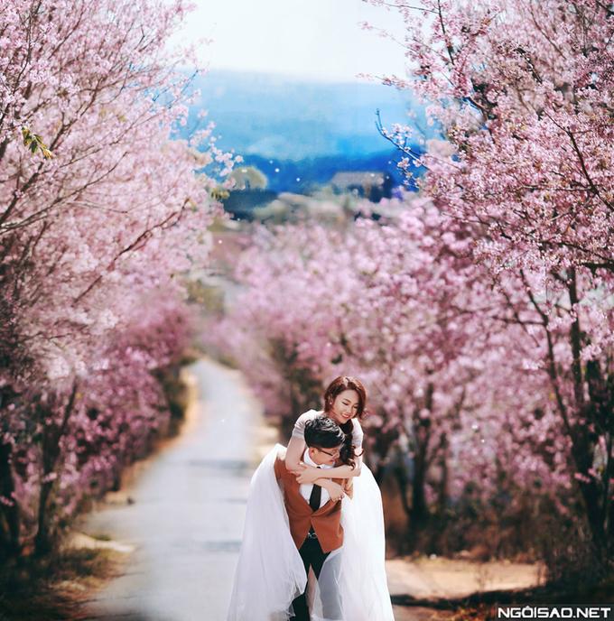 Ảnh cưới bốn mùa đẹp ngỡ ngàng ở Đà Lạt