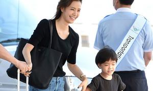 Con trai Kwon Sang Woo kháu khỉnh tuổi lên 6