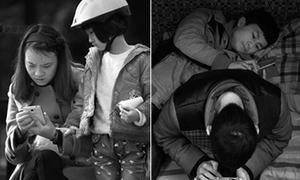 Bộ ảnh 'Khoảng cách' đáng suy ngẫm về 'thế hệ cúi đầu'