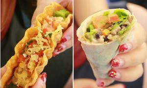 'Sandwich' Mexico giòn ngon dễ gây 'nghiện'