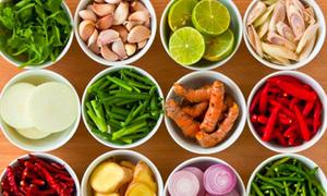 Gia vị - bí quyết của ẩm thực Thái