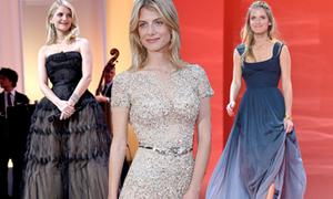 Váy áo hàng hiệu kiều diễm của nữ diễn viên Pháp