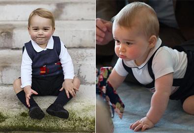 Khoảnh khắc đáng yêu 2 năm đầu đời của Hoàng tử George