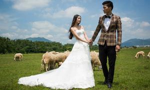 Thanh Khoa - Võ Nam gợi ý mix đồ cưới thanh lịch