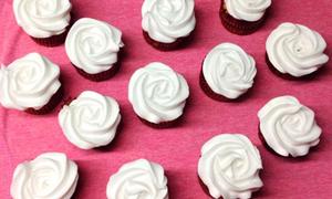 Cupcake cacao vani dễ làm đẹp mắt