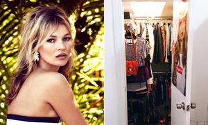 Kate Moss mê cách gấp quần áo nổi tiếng nhất thế giới