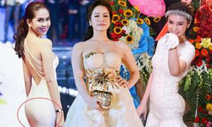 Lỗi chọn 'phụ tùng' khiến sao Việt mất điểm