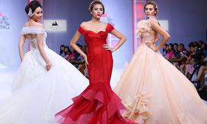 Váy cưới mang nét châu Âu lộng lẫy cho cô dâu Việt