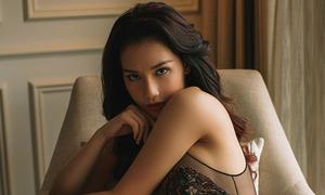 'Gái một con' Quỳnh Chi nóng bỏng với nội y