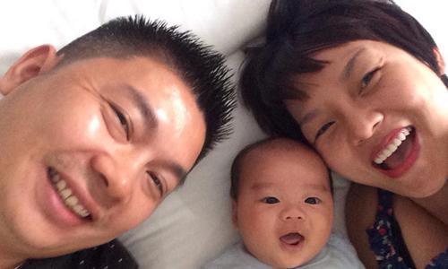 Bí quyết lợi sữa và nuôi con tăng cân tốt của Thái Thùy Linh