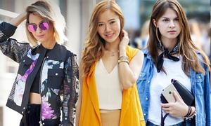 Blogger khắp thế giới khoe cá tính đón thu về