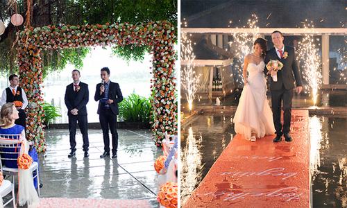 Đám cưới tuyệt đẹp ngày mưa của cặp đôi Sài Gòn