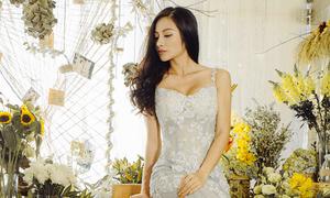 Yaya Trương Nhi diện váy cưới như công chúa